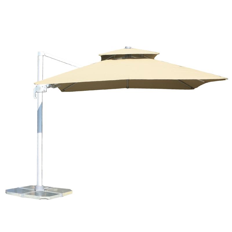MYB-004-Q双顶中罗马左右倾斜伞