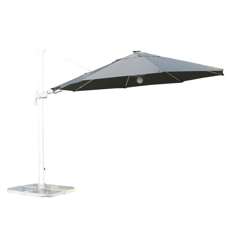 MYB-004-G中罗马左右倾斜灯条伞